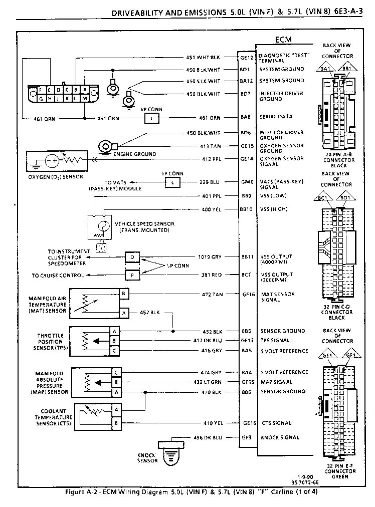 my 85 z28 and changing a \u0027165 ecm to a \u0027730 1990 Mercury Grand Marquis Wiring Diagram 92 sensor ecm wiring page1, page2
