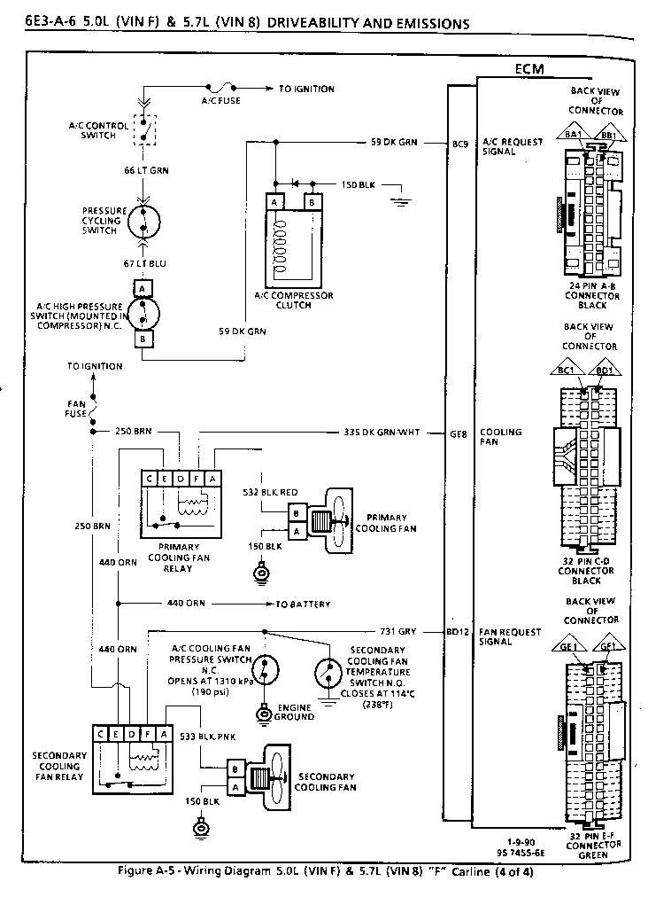 need ecm pinouts third generation f body message boards rh thirdgen org C5 Corvette Parts Diagram C5 Corvette Engine Diagram