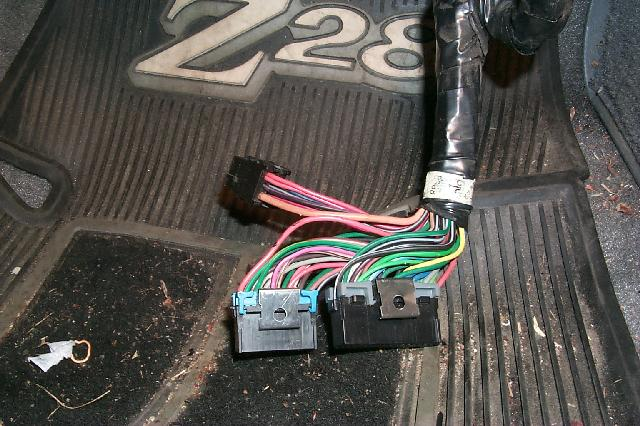 Z28 Cluster Swap Wiring Harness Adapter : Name that connector third generation f body message boards