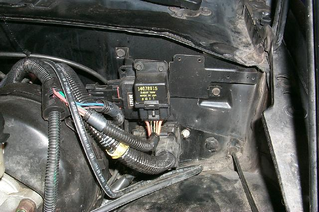89 corvette engine wiring harness diagram