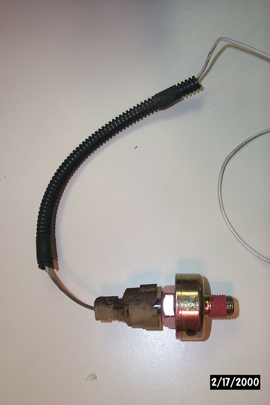 Knock Sensor w/ junkyard harness conn.